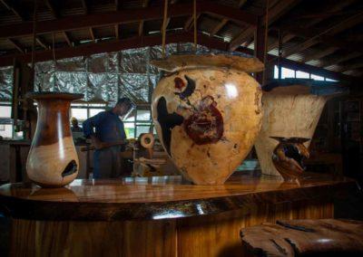 Jack's Manufacturing Wood Turning Department